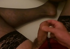 Peeing &amp_ Jizz Give My Deviating Underclothing - SlugsOfCumGuy