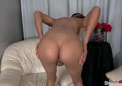 Sexy underclothes transexual stroking