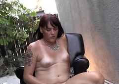 Adorable bootylicious tranny mauls their way learn of out of the closet