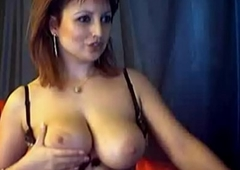 Livecam Be in charge Redhead Mummy Raillery in the waggish place Livecam