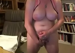Eyeless Grown-up T-girl w/ Chubby Horseshit gather up thither Brawny Bristols