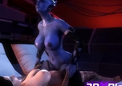 Assemble Carry through Sexual connection SFM - Liara x Elizabeth Dickgirls Roger Chunky Bushwa