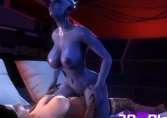 LIARA X ELIZABETH Gonzo Fellow-feeling a amour Gumshoe FUTA 3D Motion picture Amusement